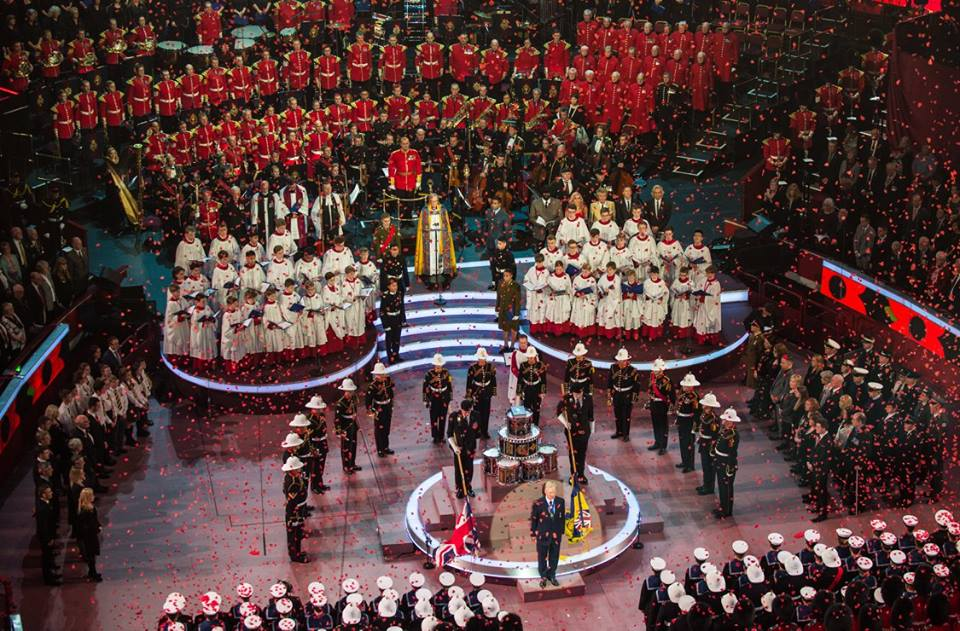 Festival of Remembrance ceremony 1