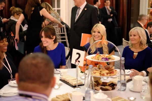 Kate at TFN awards tea party 1