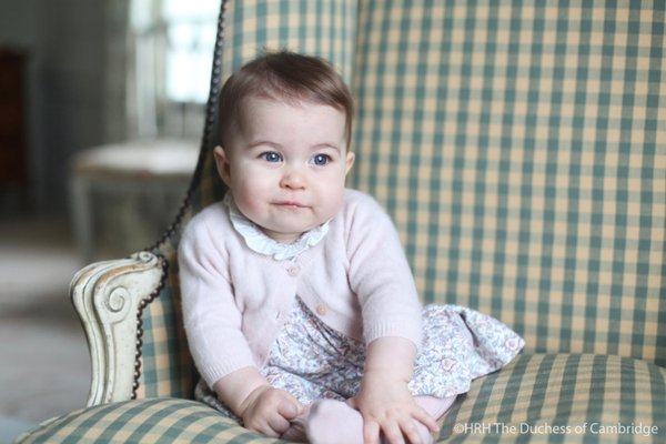 Princess Charlotte six months old 1