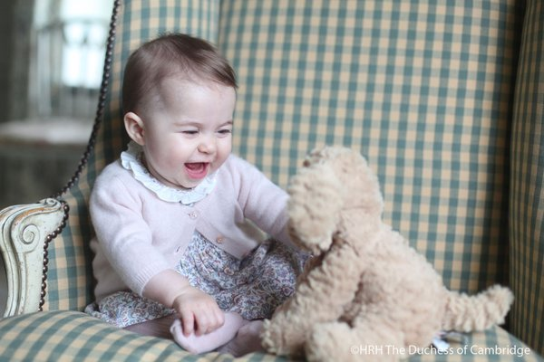 Princess Charlotte six months old 2