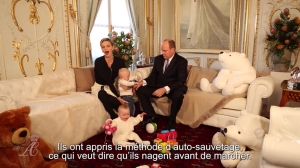 Albert, Charlene, Jacques, Gabriella interview Dec 2015