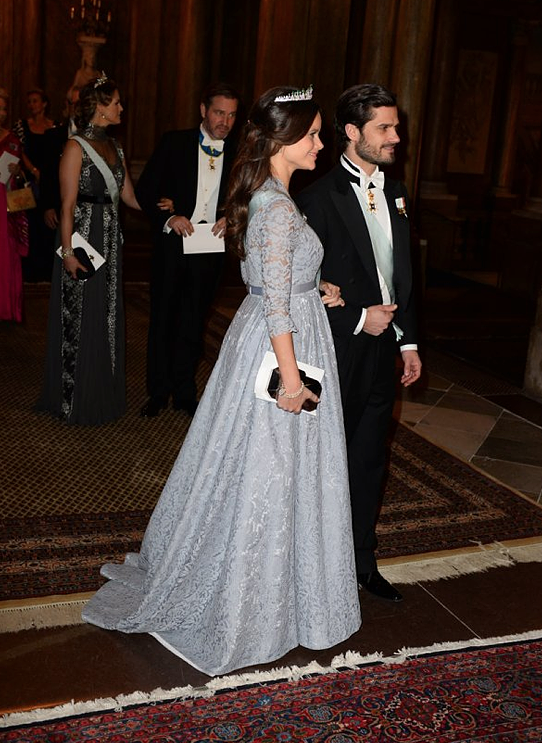 Carl Philip and Sofia Nobel Laureates Dinner 2015 2