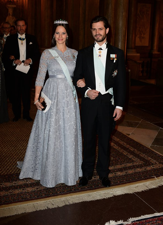 Carl Philip and Sofia Nobel Laureates Dinner 2015