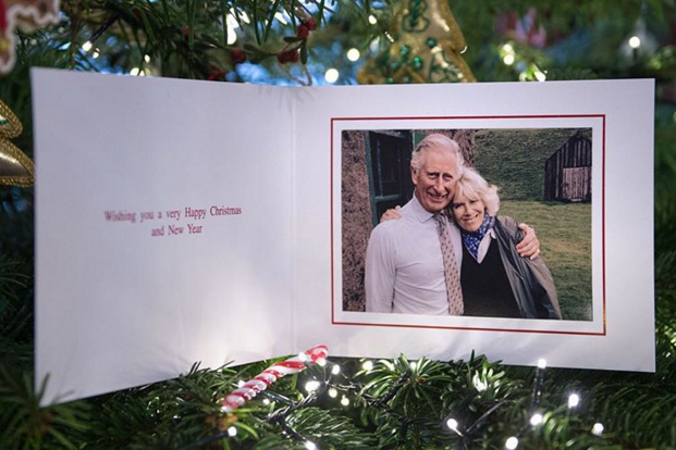 Charles and Camilla Christmas card 2015