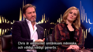 Chris on Skavlan