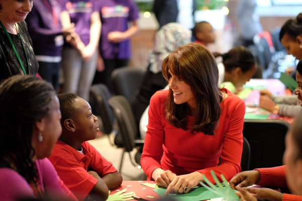 Kate Middleton Anna Freud Centre Christmas Party