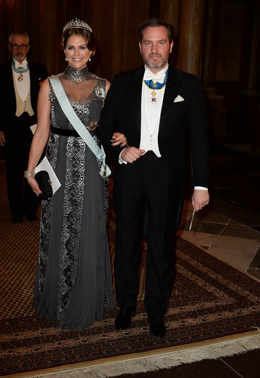 Madeleine and Chris Nobel Laureates Dinner 2015