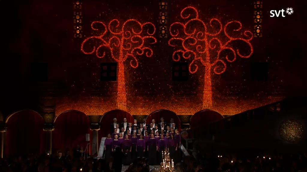 Nobel 2015 choir
