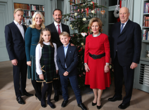 Norway royal family Christmas 2015
