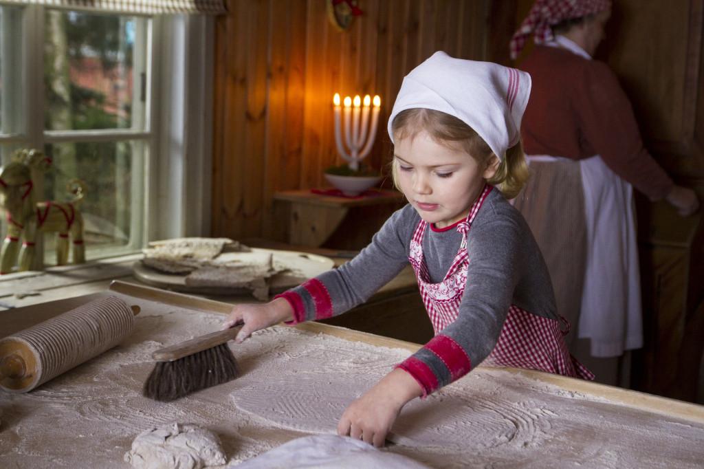 Kronprinsessfamiljen önskar god jul. December 2015.