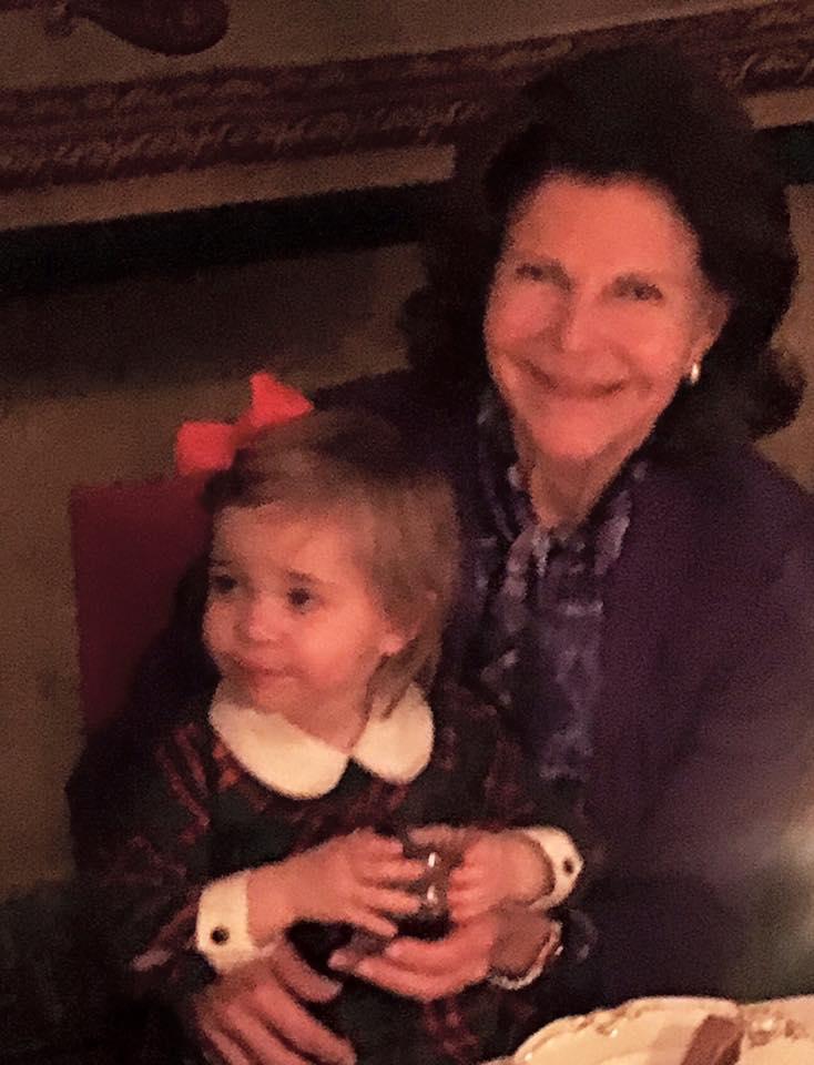Queen Silvia and Princess Leonore Silvia's birthday 2015