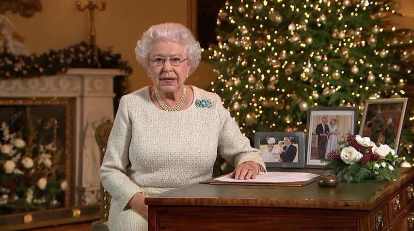 Queen's Christmas message 2015