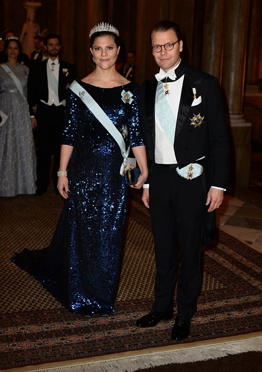Victoria and Daniel Nobel Laureates Dinner 2015