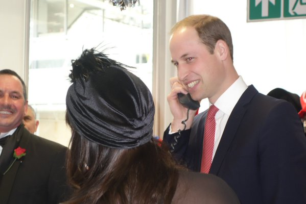 William at ICAP charity day