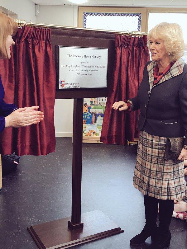 Camilla opens Rocking Horse Nursery 3