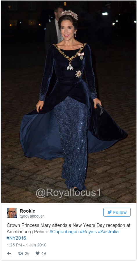 Crown Princess Mary NY reception 2016 2