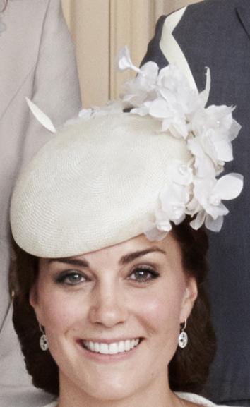 Jane Taylor bespoke white hat
