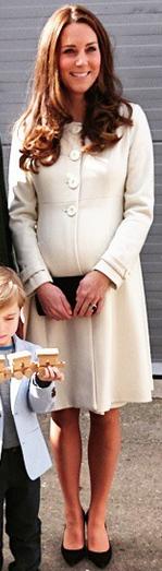 Kate in Jojo Maman Bebe at Downton Abbey