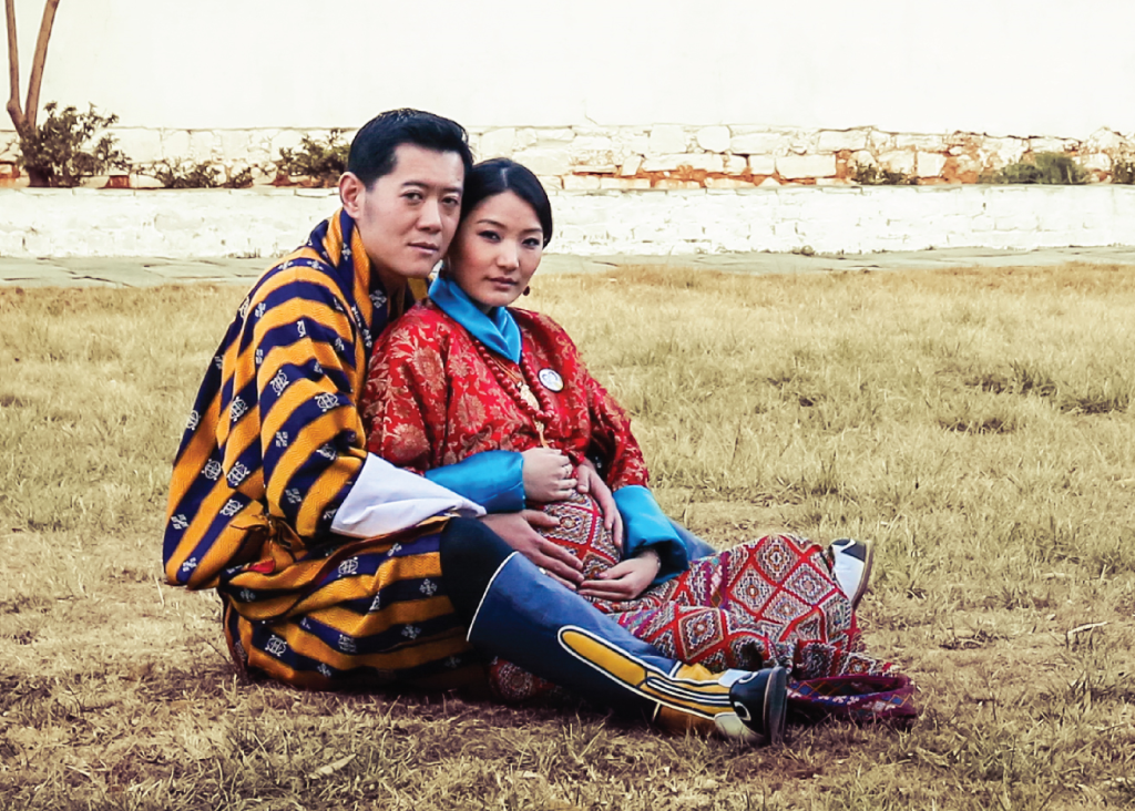 King and Queen of Bhutan January 2016 s