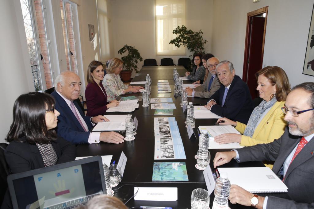 Vista general de la reunión de trabajo de la Fundación de Ayuda contra la Drogadicción (FAD)