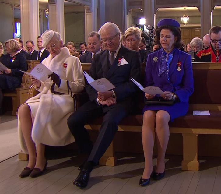 Margrethe, Carl Gustaf, Silvia King Harald's Silver Jubilee