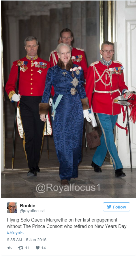 Queen Margrethe diplomatic reception 2016
