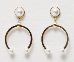 Zara Horseshoe Earrings