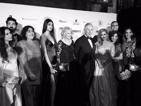 Charles and Camilla at British Asian Trust Gala 2016