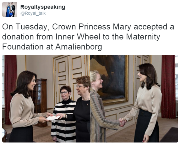 Crown Princess Mary inner wheel