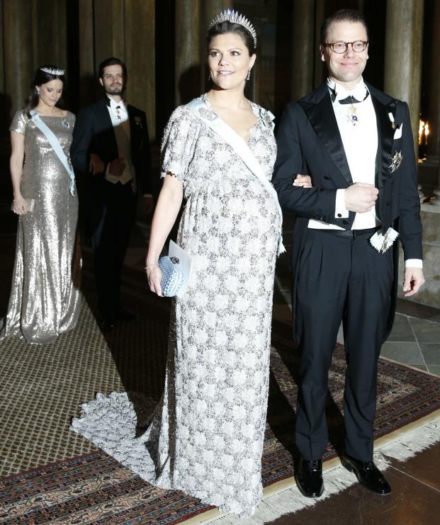 Crown Princess Victoria and Princess Sofia don tiaras for first ...