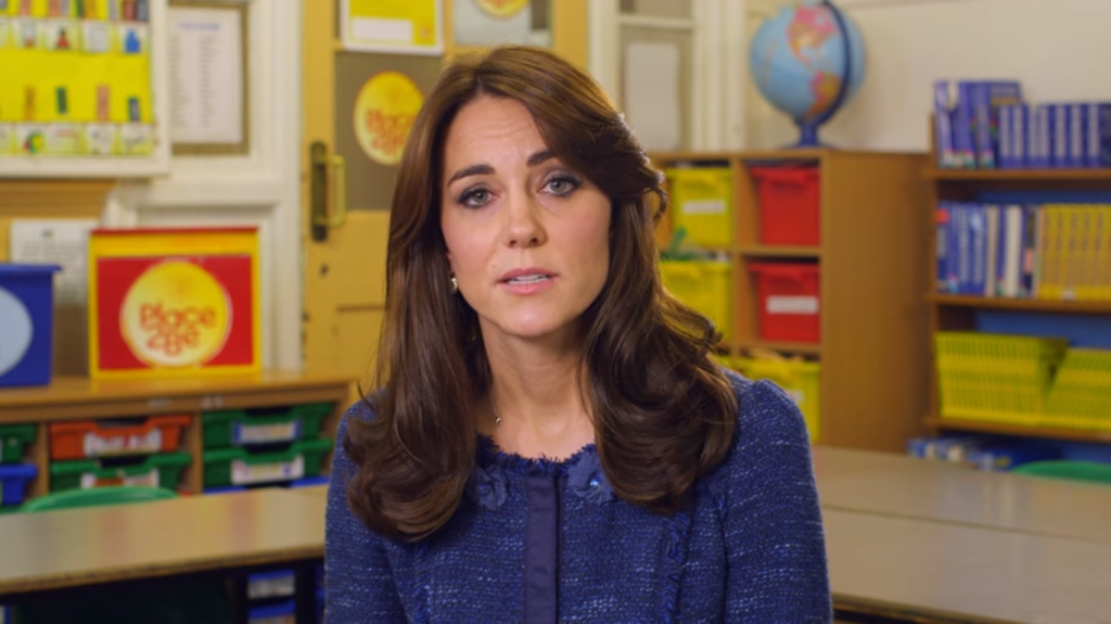 Kate Middleton Place2Be video Feb 2016 2