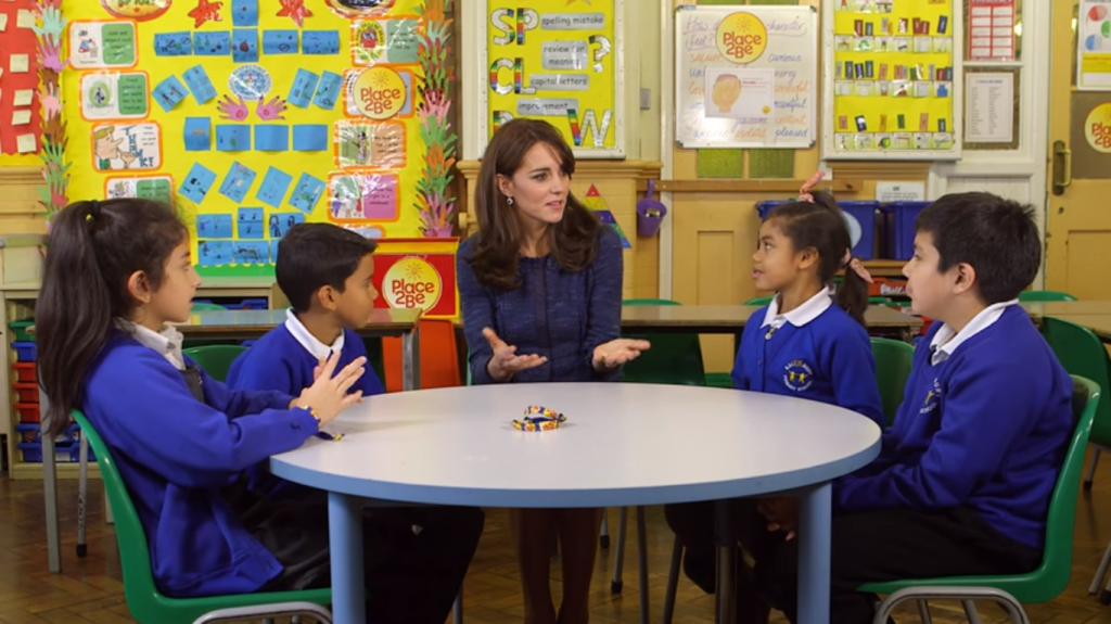 Kate Middleton Place2Be video Feb 2016 3