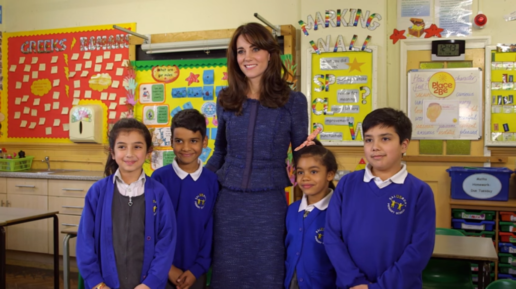 Kate Middleton Place2Be video Feb 2016 4