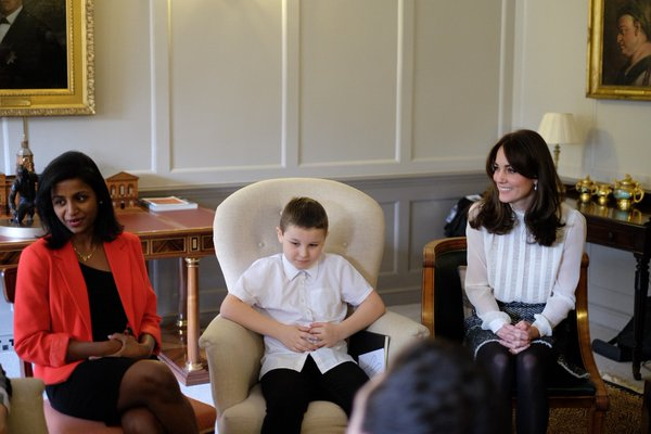 Kate chats with kids HuffPo guest editor 3