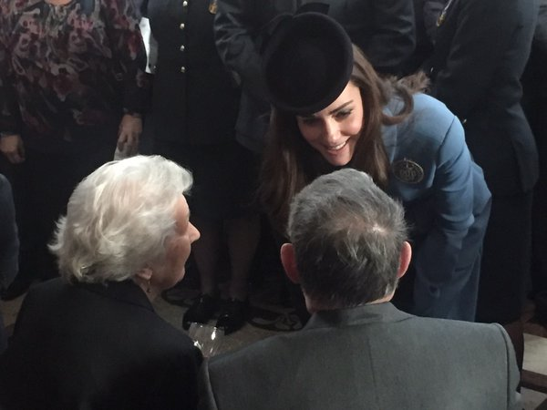 Kate meets Air Cadet veterans