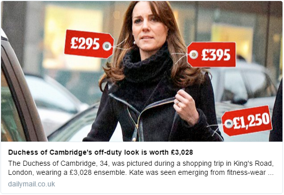 Kate shopping Feb 2016 1