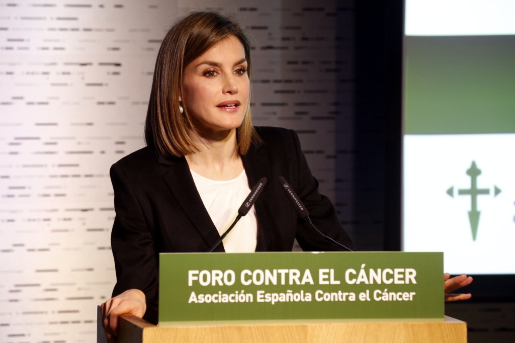 Letizia cancer forum speech