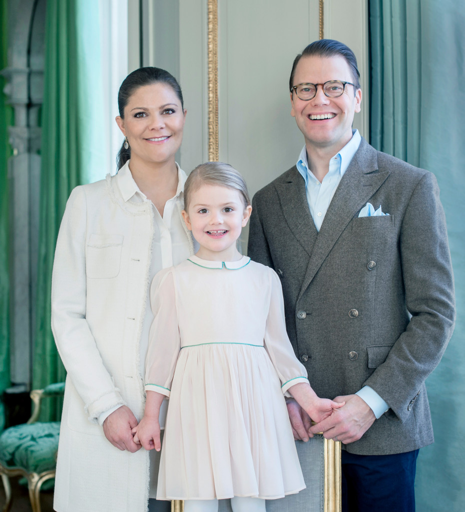 Princess Estelle 4th birthday 2
