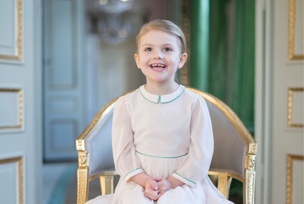 Princess Estelle 4th birthday s