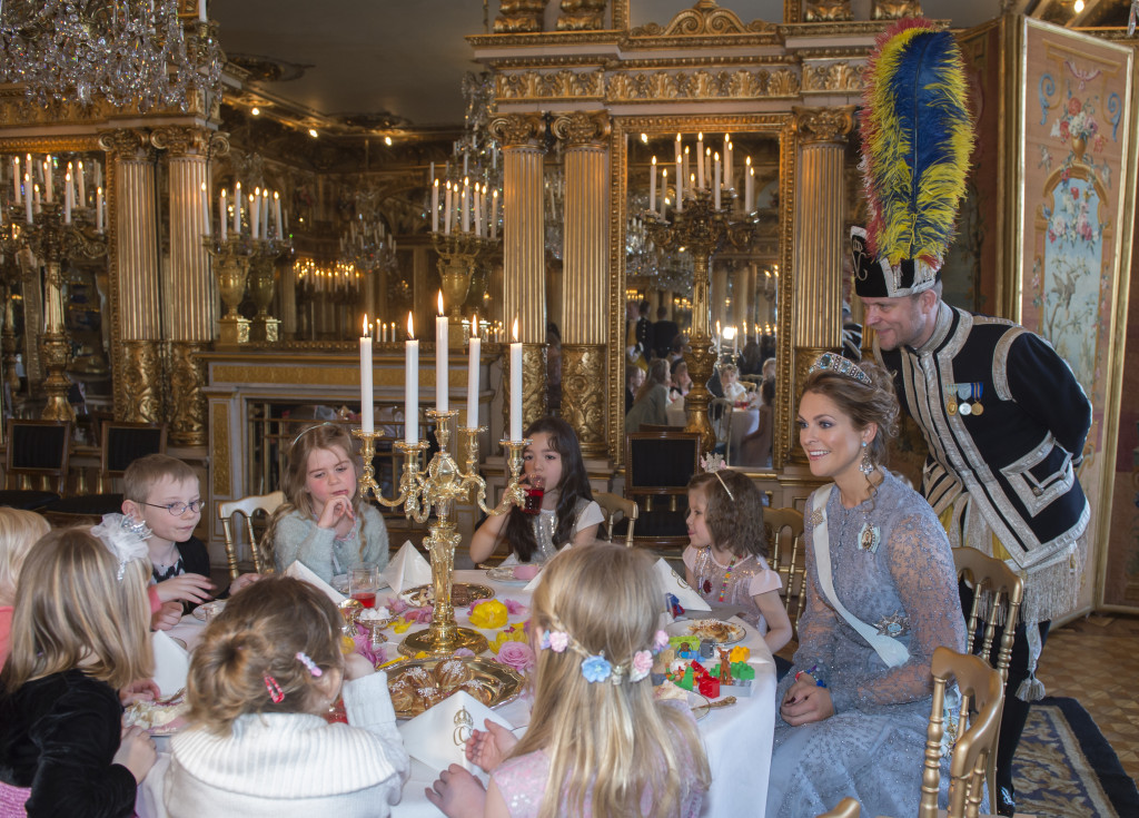 Princess Madeleine fairytale party 1