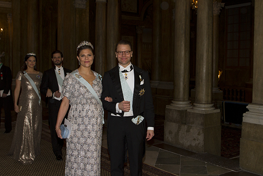 Victoria and Daniel Official Dinner Feb 2016