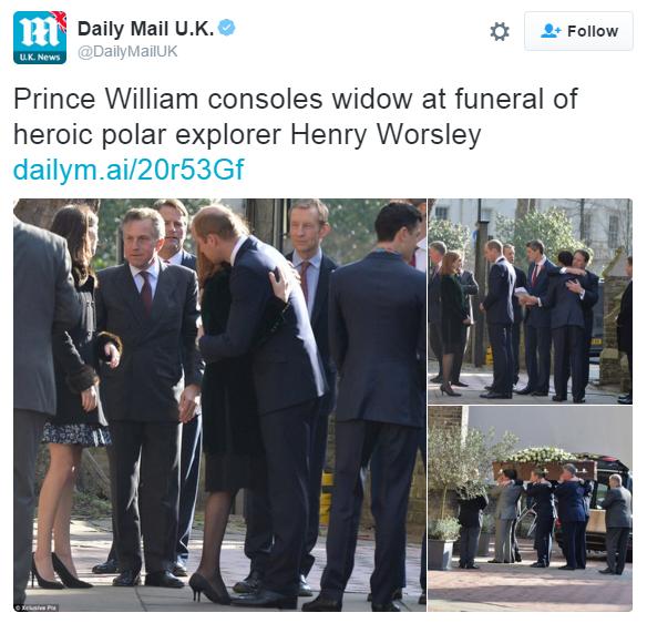 William funeral