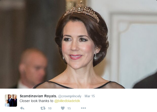Crown Princess Mary new tiara