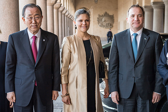 Crown Princess Victoria at the Dag Hammarskjöld Lecture