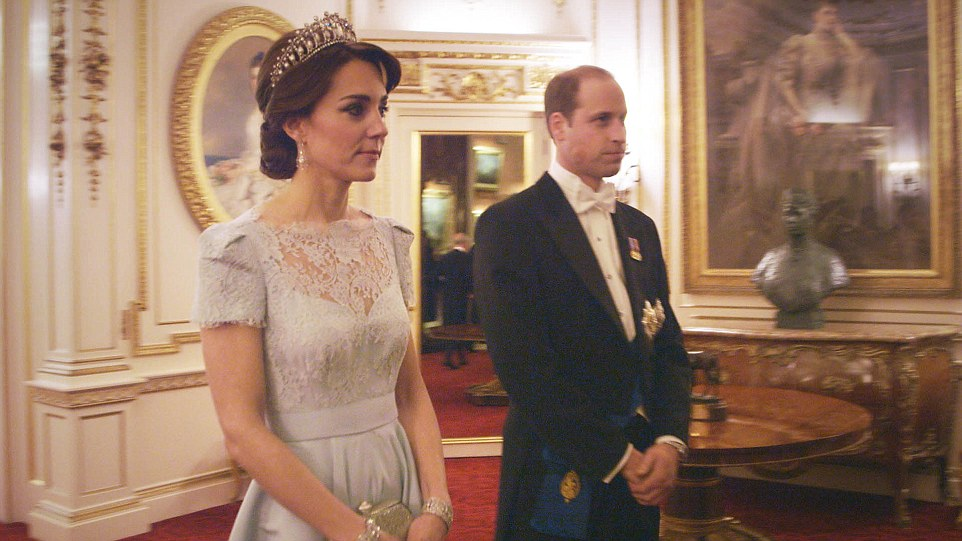 Kate and William diplomatic reception 2015