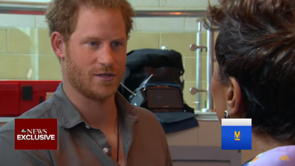 Prince Harry GMA interview 1
