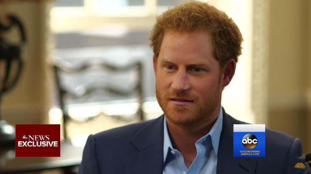 Prince Harry GMA interview 2