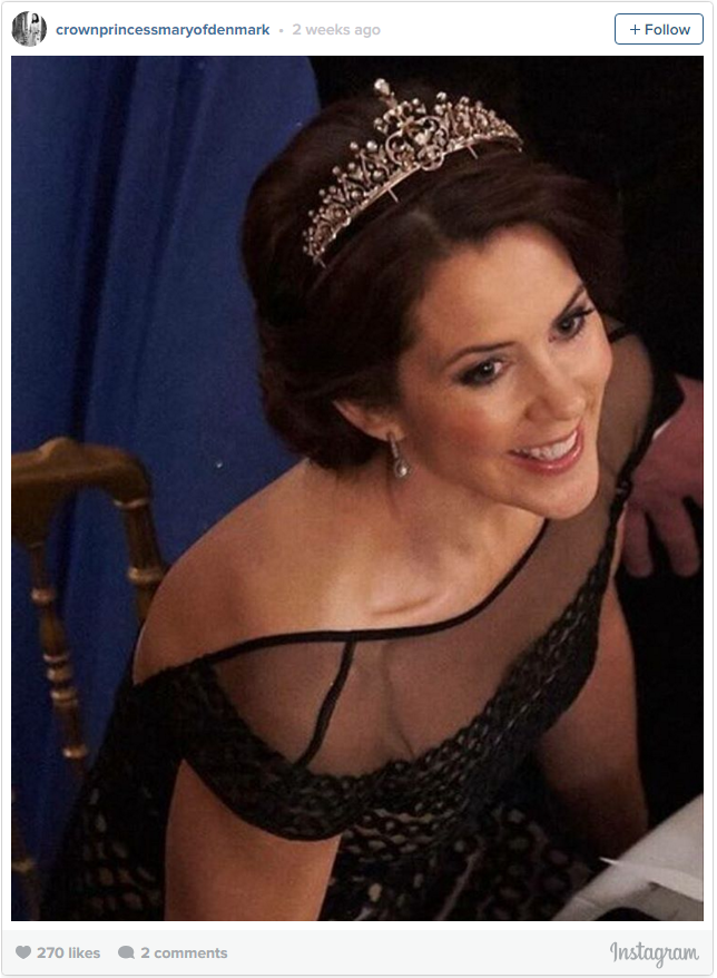 Crown Princess Mary new tiara 2