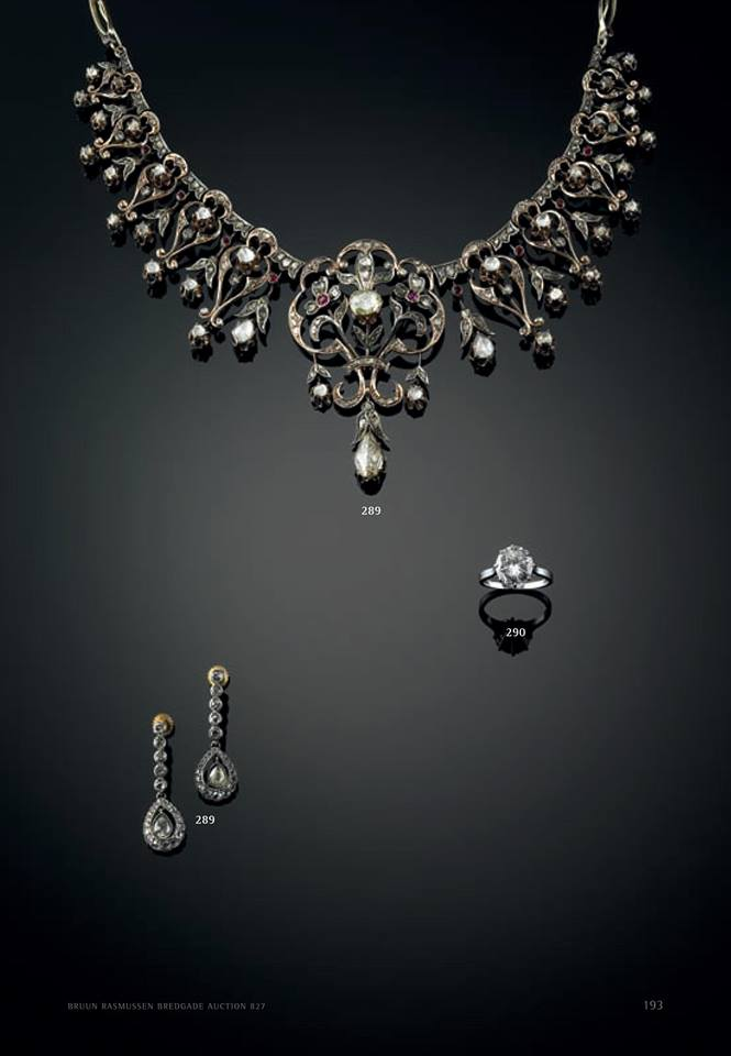 Crown Princess Mary's necklace tiara auction 2
