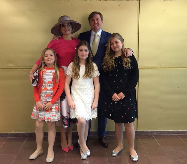 Dutch royal family King's Day